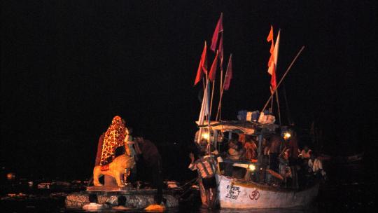 Dussehra feest in Mumbai