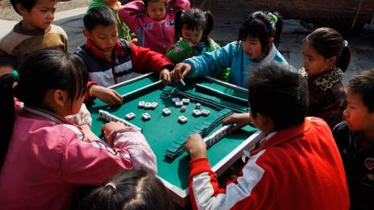 Niemand weet precies hoe oud dit Chinese spel al is.