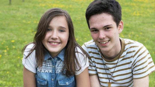 Tijdens de filmopnamen werden Džejla en Ivan snel goede vrienden.