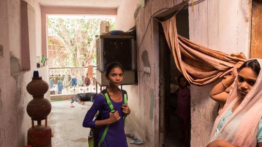 Preeti woont met haar hele familie in één kamer.