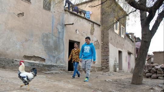 Zaynab en Zakariya zijn familie en wonen in hetzelfde bergdorpje.