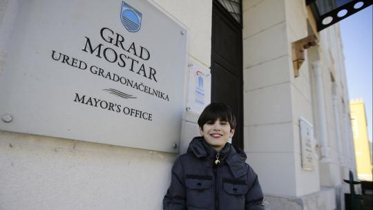 In de stad Mostar zijn voor het eerst in twaalf jaar weer verkiezingen voor een burgemeester.