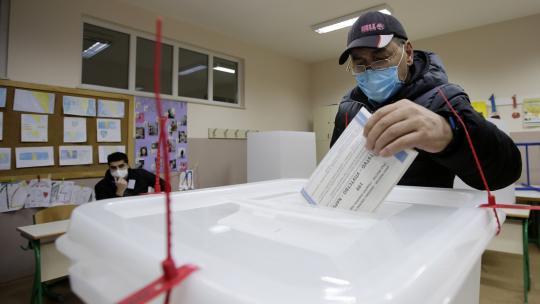 Voor het eerst in twaalf jaar waren er weer verkiezingen in de Bosnische stad Mostar.