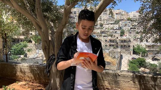 Josif woont in Jeruzalem en zag voor het eerst van zijn leven demonstraties.