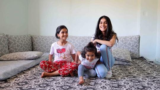 Selma vluchtte uit Syrië en woont nu in Turkije.
