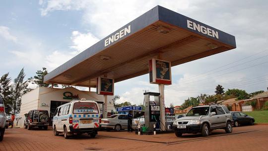 Geen lange rijen bij het benzinestation
