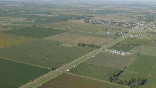Stel je een gebied voor zo groot als 18 maal Nederland en net zo plat. Dat is de prairie van Argentinië: 750.000 km2 grasland. Lang geleden graasden hier wilde lama's. Later werd het gebied het werkterrein van cowboys, die te paard achter hun koeien aanjoegen. Bliksem zorgde om de zoveel jaar voor bosbranden die, aangewakkerd door de harde wind, de boomgroei stopten. De dikke grasbodem bleef zo vruchtbaar. Dat ontdekten grote landbouwbedrijven ook: ze verbouwden er graan. Tegenwoordig is de pampa bedekt met