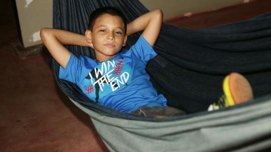 Cristhian (8) uit Nicaragua
