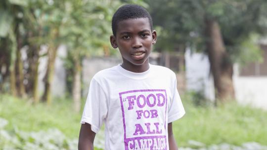 Andrew uit Ghana.