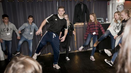 Wat past er nu meer bij Amerika dan breakdance?