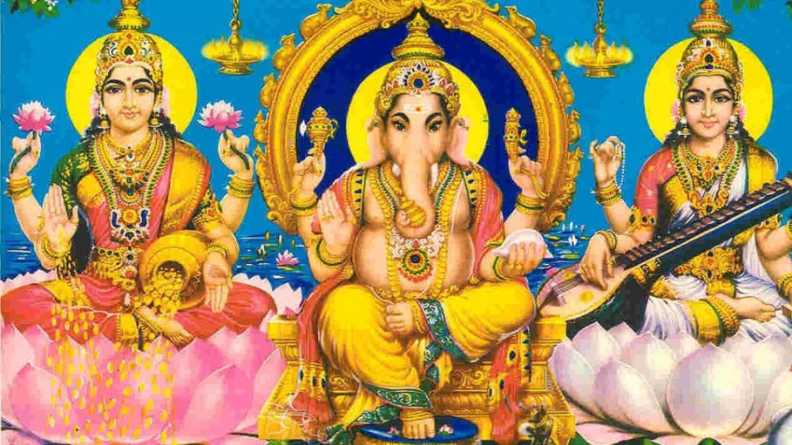 In het hindoeïsme zijn veel goden.