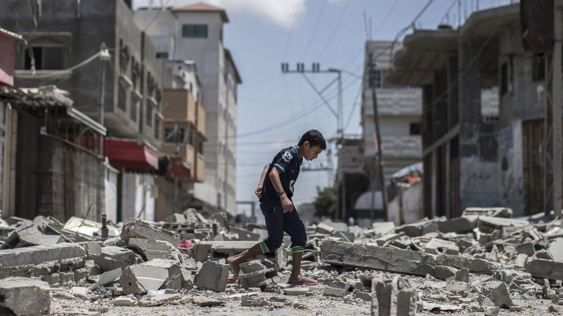 Door de strijd in het Midden-Oosten verliezen heel veel mensen hun werk, huis of leven.