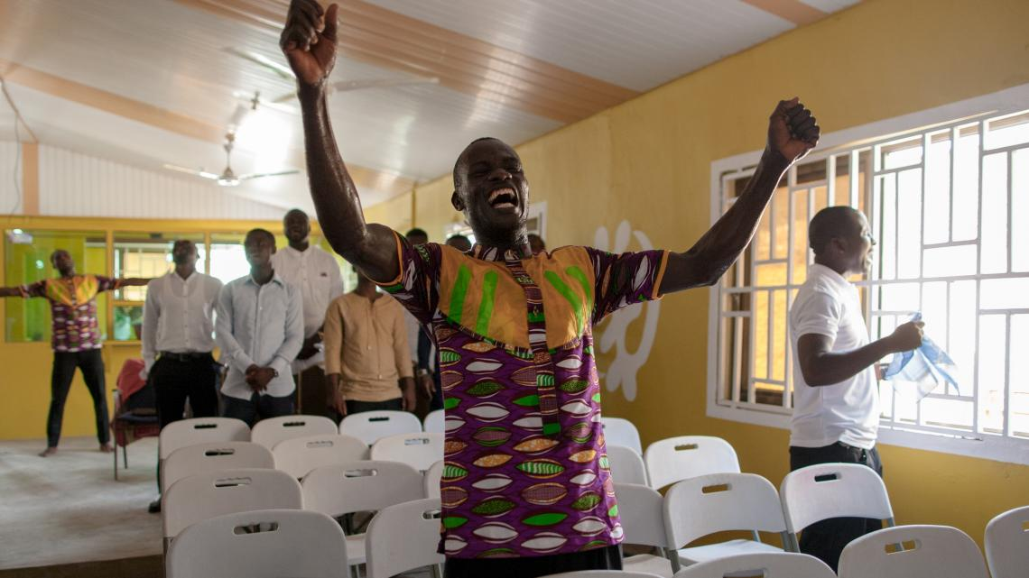 Door de missionarissen is het christendom ook verspreid in het Afrikaanse land Ghana.