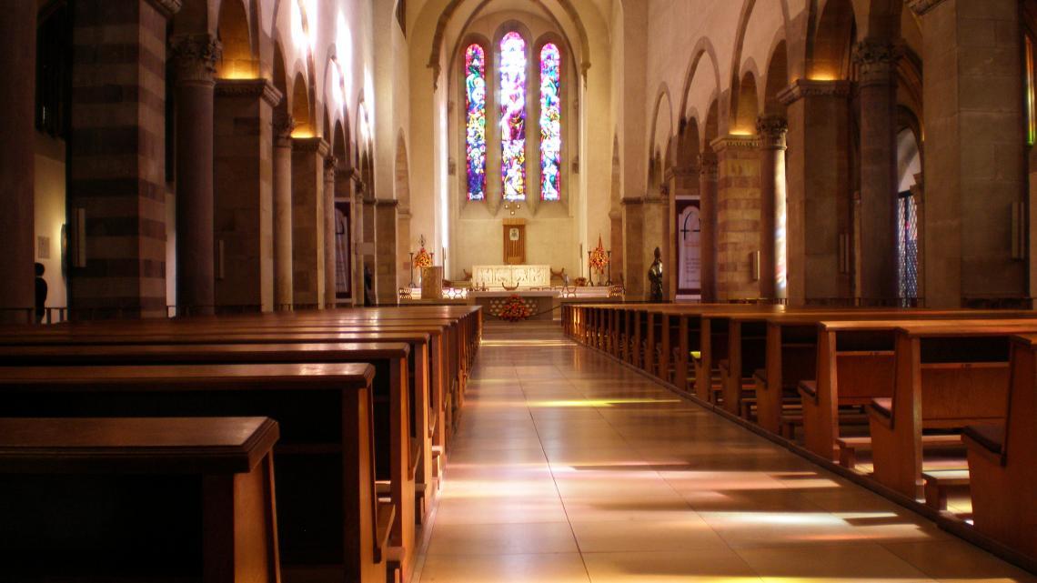 Willibrord ligt begraven in deze abdij in Luxemburg.