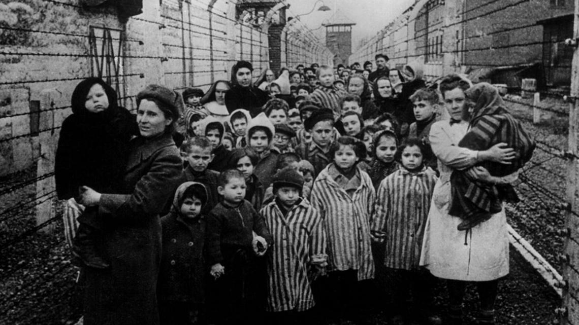 In het Duitse werk- en vernietigingskamp Auschwitz-Birkenau in Polen zijn ruim 1 miljoen mensen vermoord.