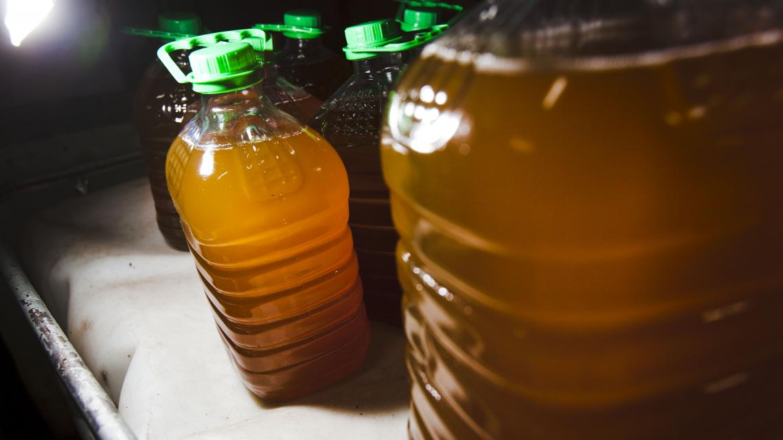Pinda-olie