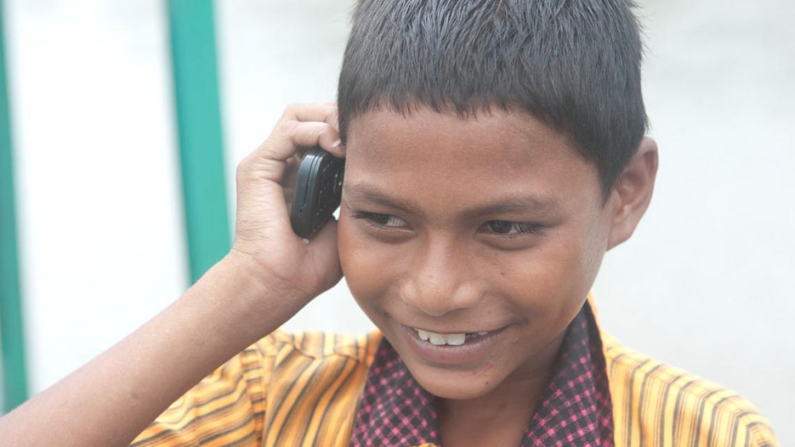 Een telefoon