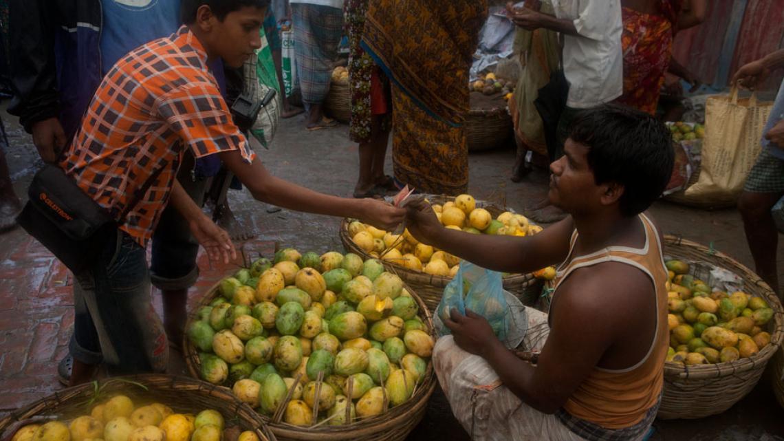 Goed nieuws: de lekkerste mango's zijn ook het goedkoopst.