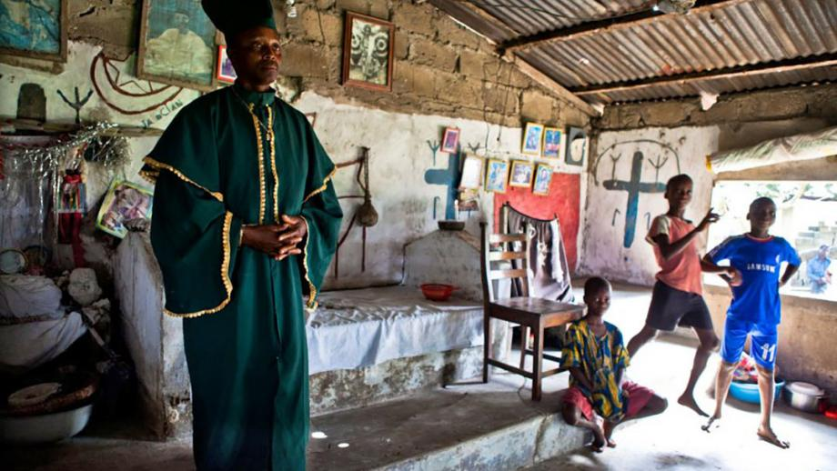 Voodootempel in Benin