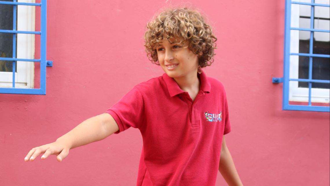Kyle (10) uit Curaçao