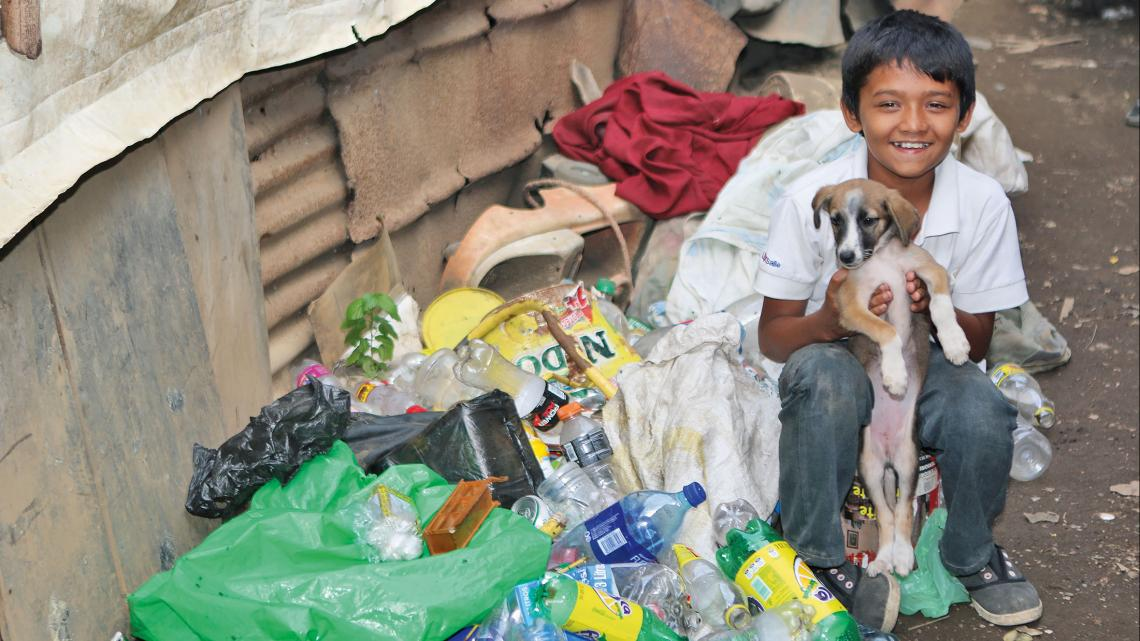 Nicaragua_plastic_huishond