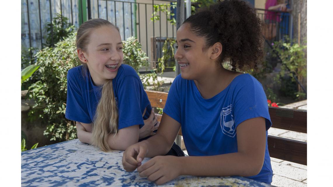 Israel_ontmoeting_gemengde-school1
