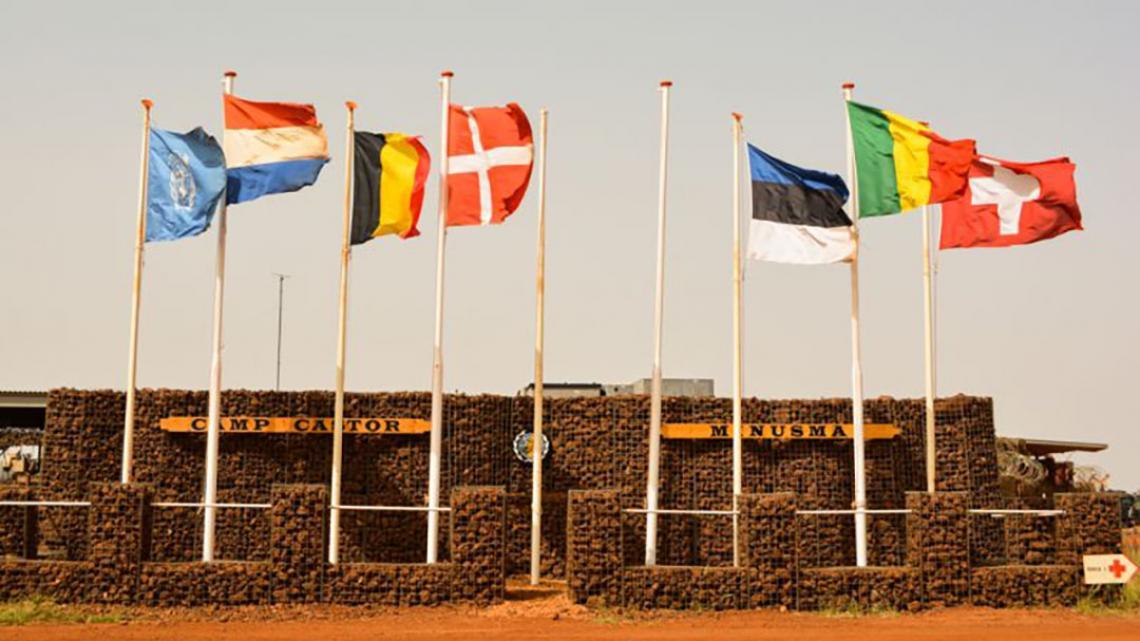 Aan de vredesmissie in Mali doen 23 landen mee.