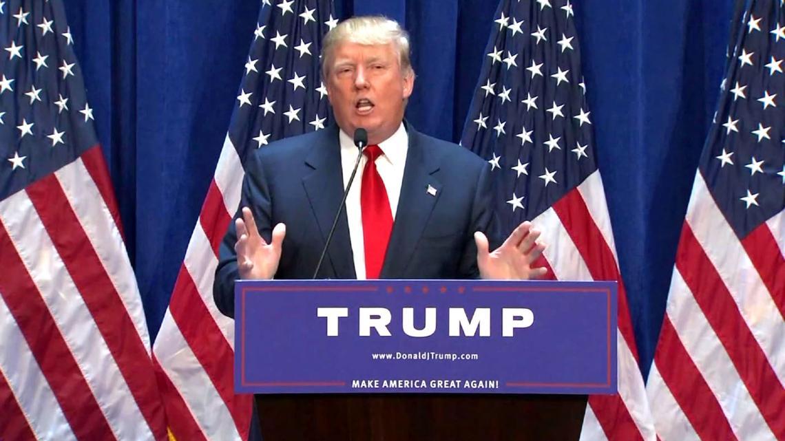 """Trump: """"Het mooie aan mij, is dat ik heel rijk ben."""""""