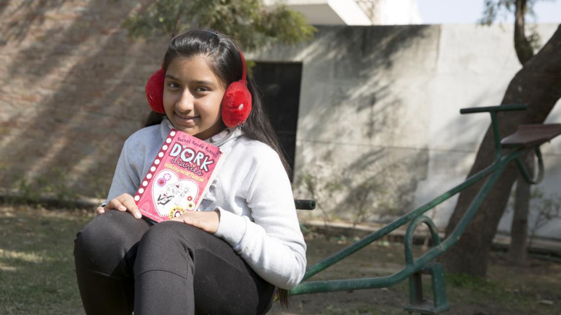 Tvisha (12) uit India