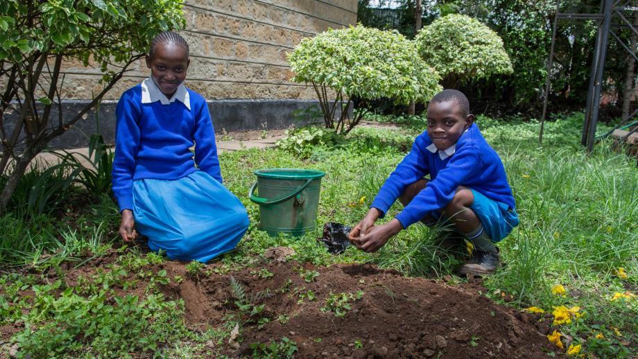 Faith en Emmanuel wonen in de hoofdstad van Kenia.