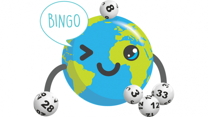Globy speelt bingo