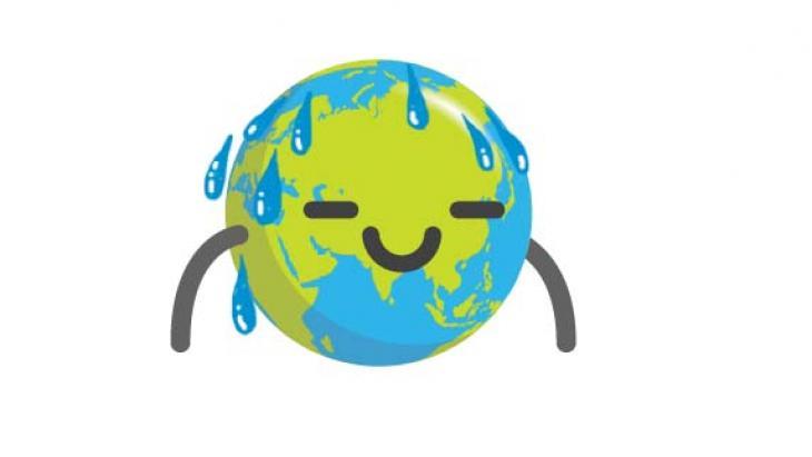 Globy met regendruppels