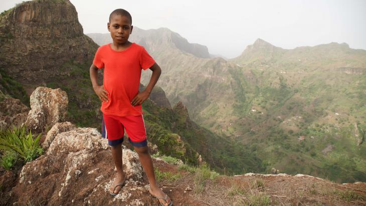 Cleber woont op een van de Kaapverdische eilanden.