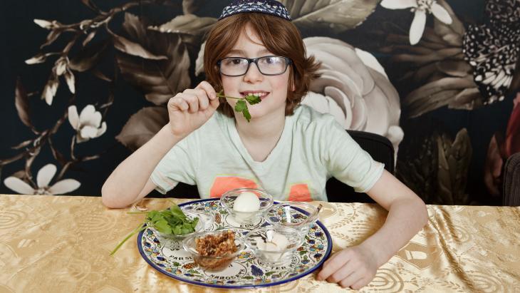 Joden eten charoset op sederavond, voor Pesach.