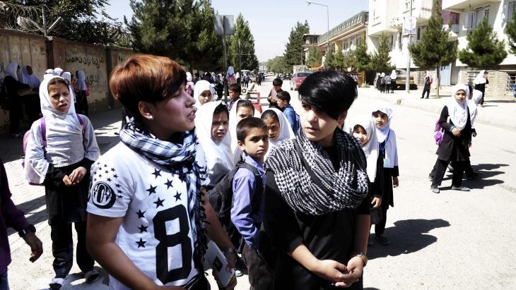 Ali en Setar worden op straat in de Afghaanse hoofdstad Kabul regelmatig nageroepen.