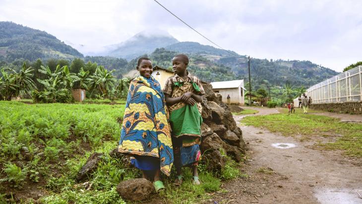 Rwanda wordt ook wel het land van de duizend heuvels genoemd.