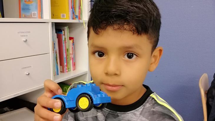 Alexis vluchtte voor het geweld in El Salvador.