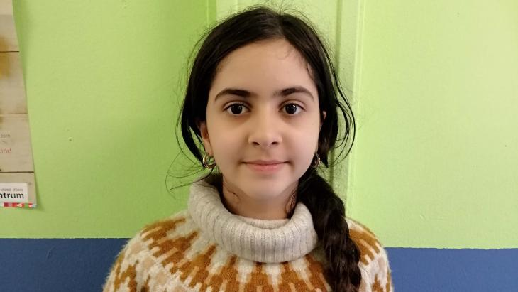 Sevda is gevlucht uit Iran.