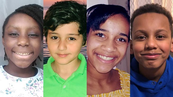 Miracle, Omar, Jeniah en Raphael vertellen over hun ervaringen met racisme.