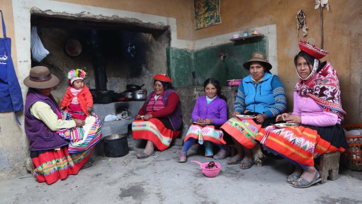 In het Peruaanse dorp van Chaska spreekt iedereen Queachua.