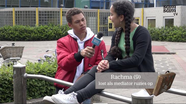 Rachma lost als mediator ruzies op