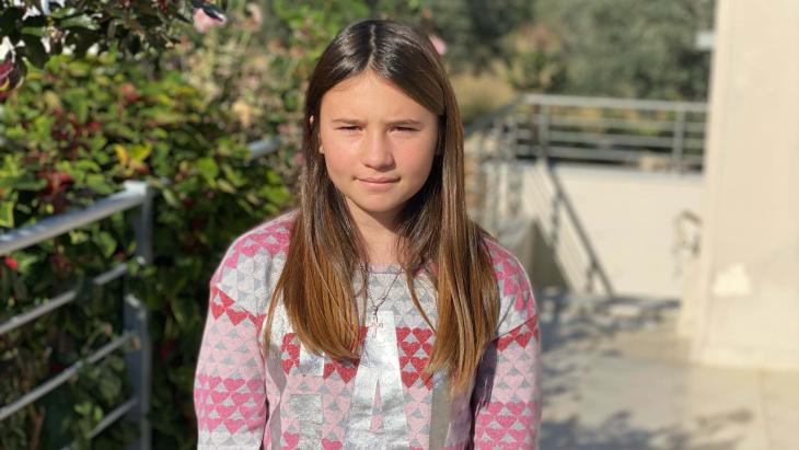 De Griekse Iliana spreekt als een van de weinigen een zeldzame taal: het Tsakonika.