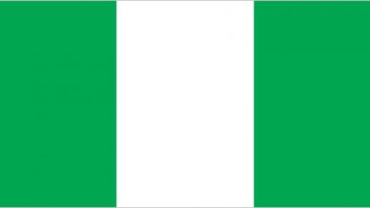 De vlag van Nigeria.