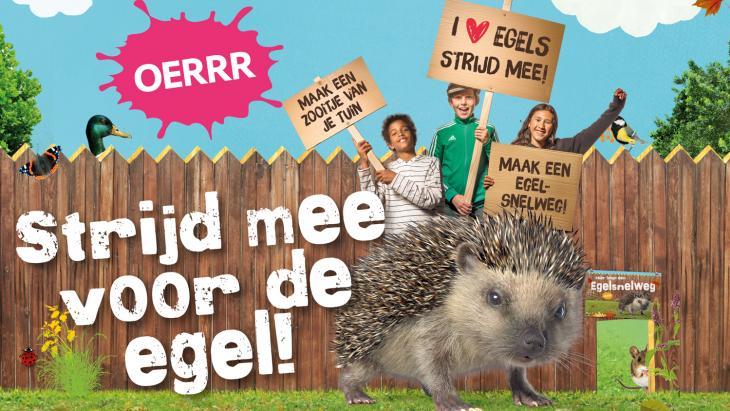 Strijd mee voor de egel!