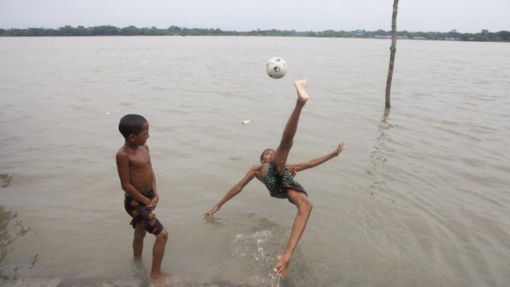 Bangladesh wordt vaak getroffen door overstromingen.