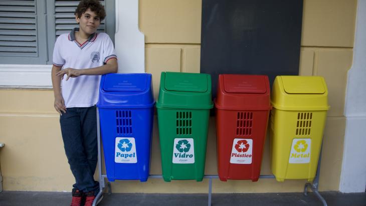 Pedro is trots dat de conferentie Rio+20 in zijn land wordt gehouden.