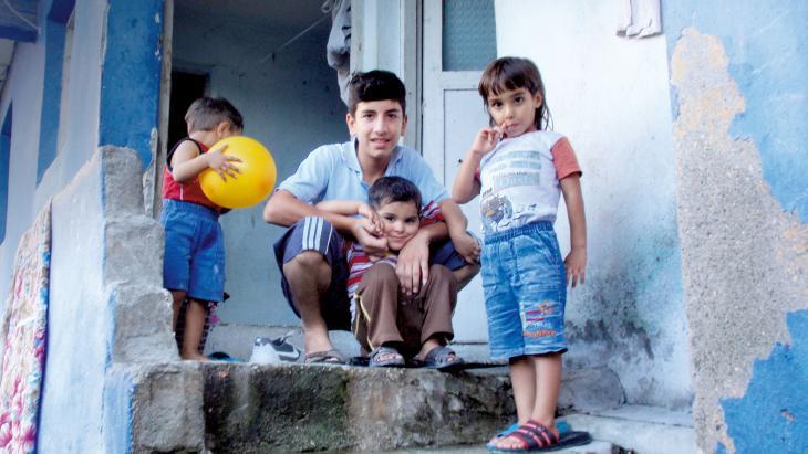 Ahmad vluchtte van Syrië naar Turkije.