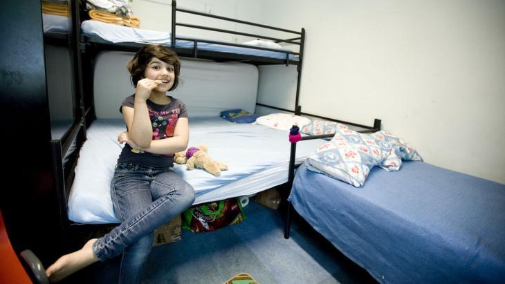 Huda uit Afghanistan woont in een azc.