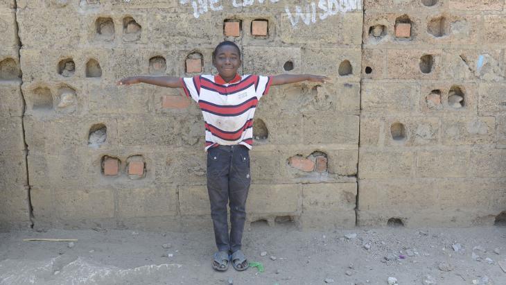 Chima (11) uit Zambia
