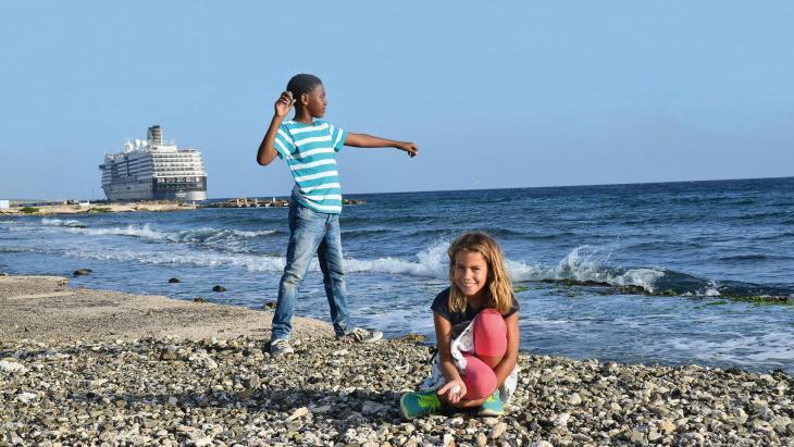 Op Curaçao maken ze van zeewater drinkwater